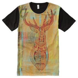 texture deer All-Over print T-Shirt