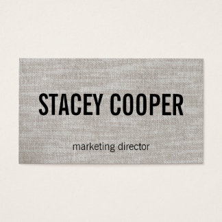 Texture / Fabric Business Card