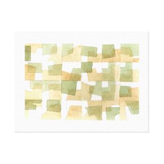 "Texture ""Green "" Gallery Wrap Canvas"