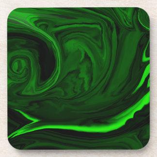 texture green malachite coaster