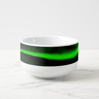 texture green malachite stone soup mug