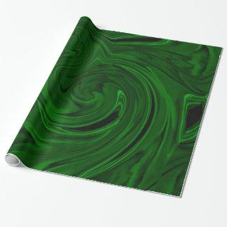 texture green malachite gift wrap paper