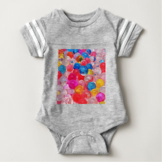 texture jelly balls baby bodysuit