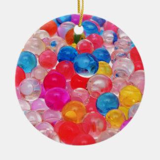 texture jelly balls christmas ornament