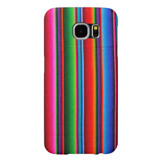 Texture Of Mexican Fabric Samsung Galaxy S6 Cases