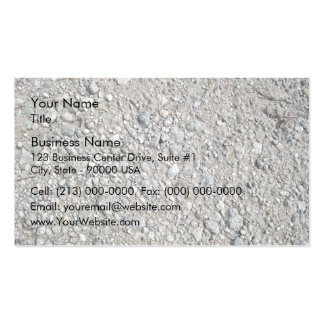 Texture - Stony Ground Background Pack Of Standard Business Cards