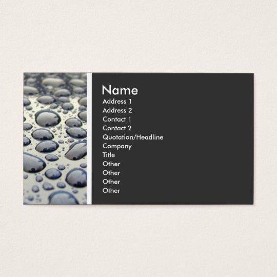 Texture Tone (Car Hood) Business Card