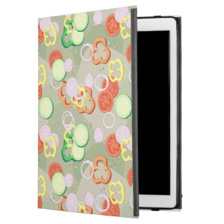 "Texture With Slices Of Vegetables iPad Pro 12.9"" Case"