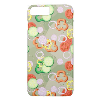 Texture With Slices Of Vegetables iPhone 8 Plus/7 Plus Case