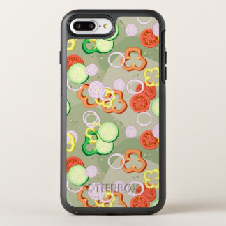 Texture With Slices Of Vegetables OtterBox Symmetry iPhone 8 Plus/7 Plus Case