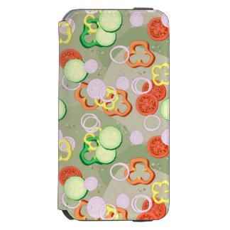 Texture With Slices Of Vegetables Incipio Watson™ iPhone 6 Wallet Case