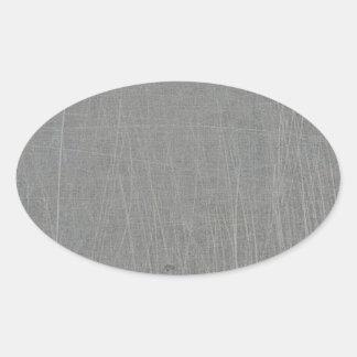 textured16 GRAY GREY CONCRETE TEXTURED BACKGROUND Oval Sticker