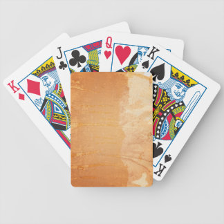 Textured background 3 bicycle playing cards