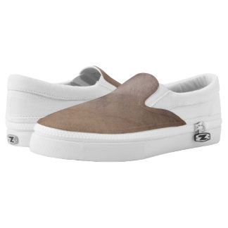 Textured background 4 Slip-On shoes
