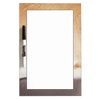 Textured background dry erase boards