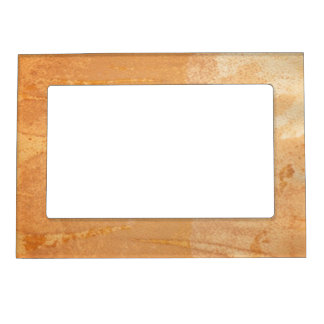Textured background magnetic picture frame