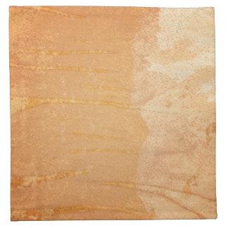 Textured background napkin