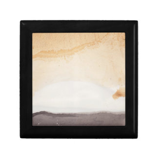Textured background small square gift box