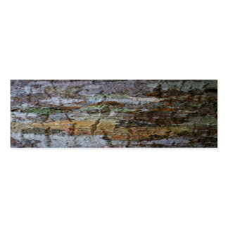 Textured Bark Pack Of Skinny Business Cards