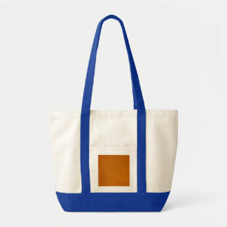 Textured Burnt Orange Impulse Tote Bag