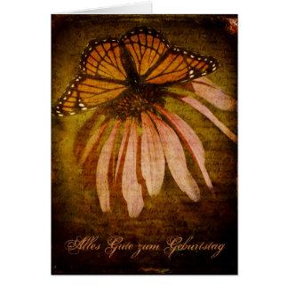 Textured Butterfly Alles Gute zum Geburtstag Card