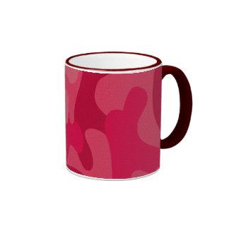 Textured Camo Pattern Ringer Mug