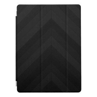 "Textured Dark Stripes 12.9"" iPad Pro Cover"