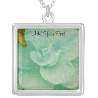 Textured Flower by Shirley Taylor Silver Plated Necklace