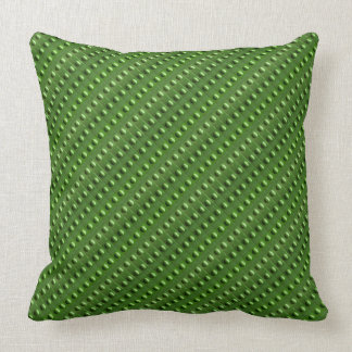 Textured Green Bubbles Cushion