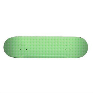 Textured Green Dots Pattern Skate Board Decks