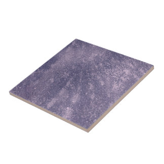 Textured Lavender Purple Ceramic Tile