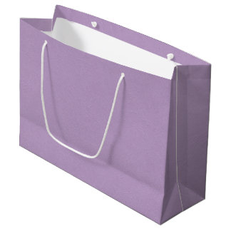 Textured Light Purple Color Large Gift Bag