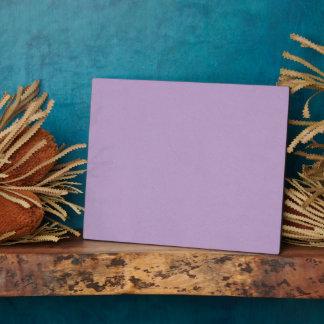 Textured Light Purple Color Plaque