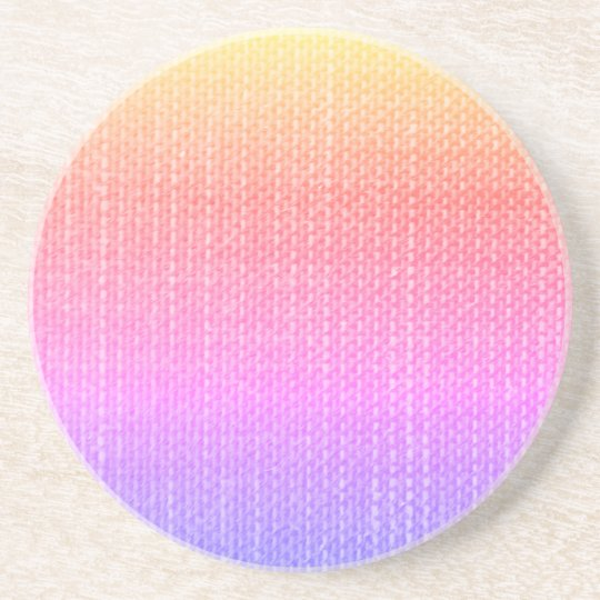 Textured Multi-Colour Coaster