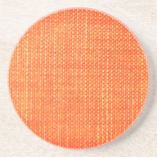 Textured Orange Coaster