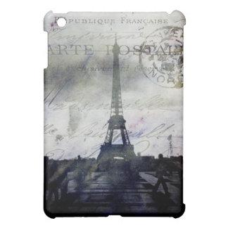 Textured Paris in Lavender iPad Mini Cover