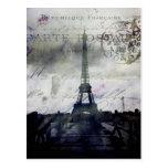 Textured Paris in Lavender Post Card