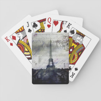 Textured Paris Playing Cards