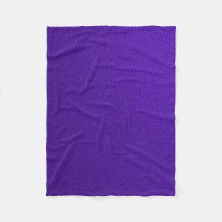 Textured Purple Fleece Blanket
