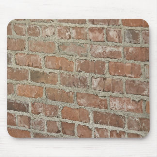 Textured Red brick wall Mouse Mat