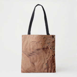Textured Rock Photo Tote Bag