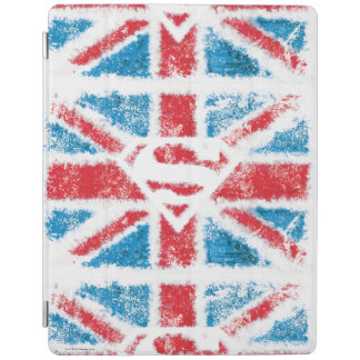 Textured S-Shield Over Flag iPad Cover