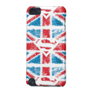 Textured S-Shield Over Flag iPod Touch 5G Cover