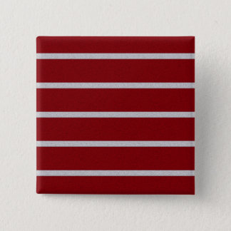 Textured Stripes button, customize 15 Cm Square Badge