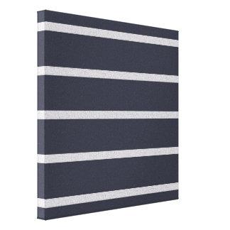 Textured Stripes canvas print, customize