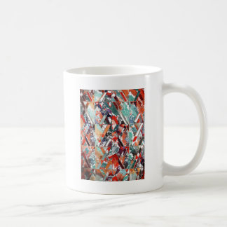 Textured Structural Abstract Mugs