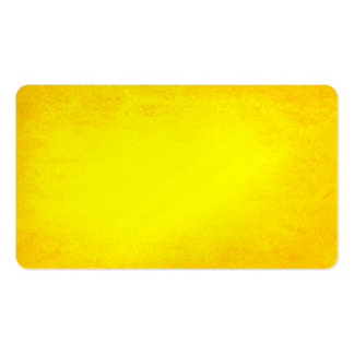 Textured summer yellow business card