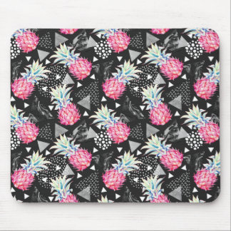 Textured Triangle Pineapple Pattern Mouse Mat