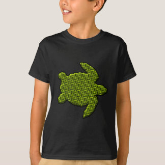 Textured Turtle T-Shirt