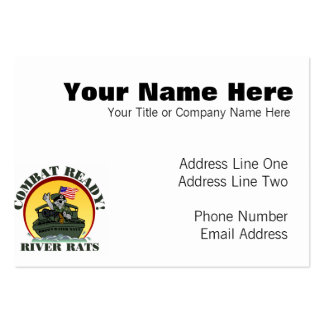 TF116 PACK OF CHUBBY BUSINESS CARDS